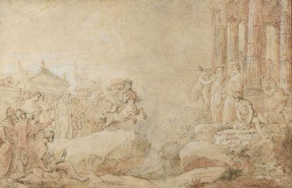 Charles Joseph NATOIRE (Nîmes 1700-Castel...