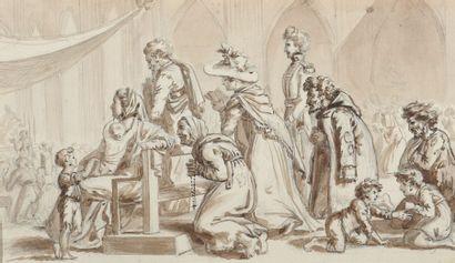 Attribué à Jacques BORDIER DU BIGNON (1774-1846)...