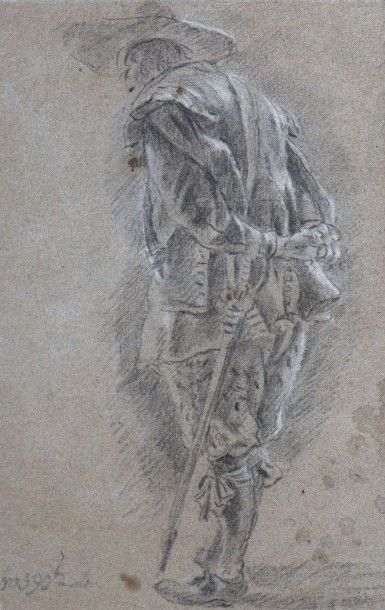 Jan MIEL (Beveren vers 1599-Turin 1663) Soldat...