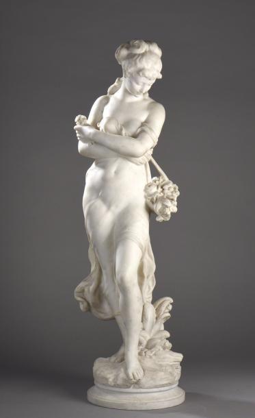 Hyppolite Moreau (1832 – 1927 )  Le Printemps...