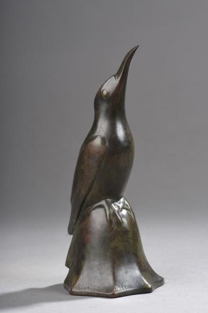 Edouard Marcel SANDOZ (1881 – 1971)  L'oiseau...