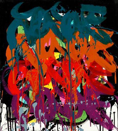 JONONE (1963) Sans titre Acrylique sur toile...