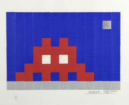 SPACE INVADER (1969) Home Neptune, 2010 Sérigraphie...