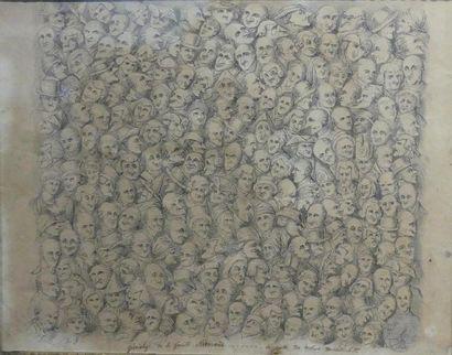 Ecole anglaise du XIXè siècle Portrait de...
