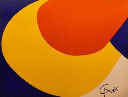 Lot d'estampes dont Calder, Adami, Saint-Palle,...