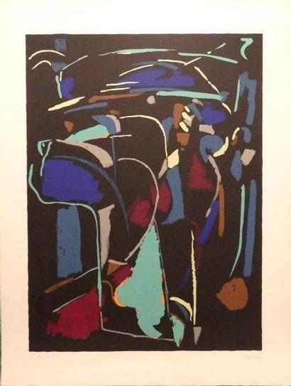 André LANSKOY (1902-1976) Composition Lithographie...