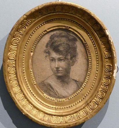 Charles MOREAU-VAUTHIER (1857-1924) Portrait...