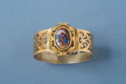 Bracelet en vermeil (argent 2nd titre 800‰),...