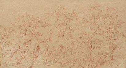 Jacob WEYER (Hambourg 1623-1670)  Scène...