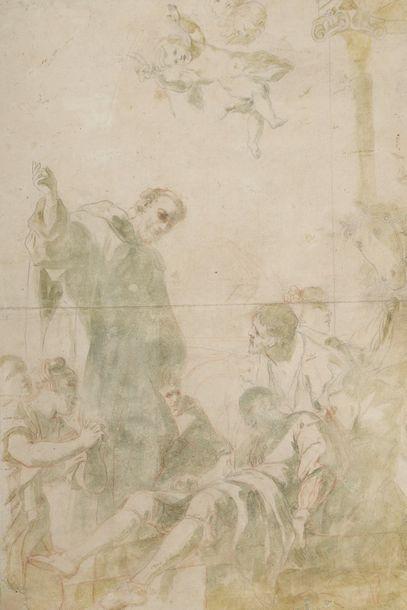 École ITALIENNE du XVIIe siècle  Jésus et...