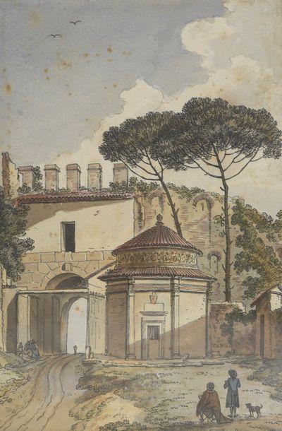 École FRANCAISE du XVIIIe siècle  Dessinateurs...
