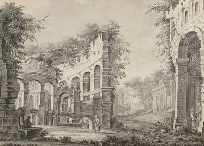 Dirk VERRIJK (Haarlem 1734-La Haye 1786)...