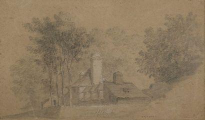 Nicolas OZANNE (Brest 1728-Paris 1811)  Paysage...