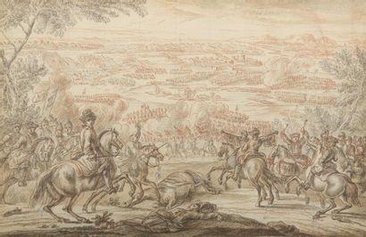 Attribué à Charles PARROCEL (1688-1752)...