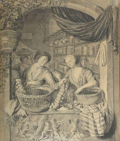 Attribué à Willem van MIERIS (1662-1747)...