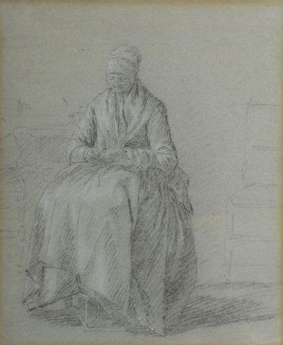 École HOLLANDAISE du XVIIIe siècle  Une...