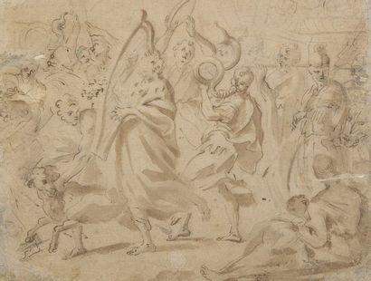 Attribué à Cornelis SCHUT (1597-1655)  David...