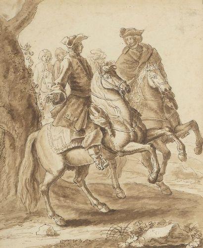 Attribué à Georg Philip RUGENDAS (1666-1742)...