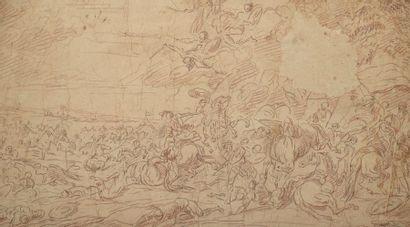 École ALLEMANDE du XVIIe siècle  Scène de...
