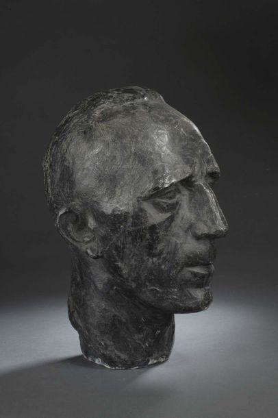 Albert BOUQUILLON (1908-1997)  Buste de Maurice...
