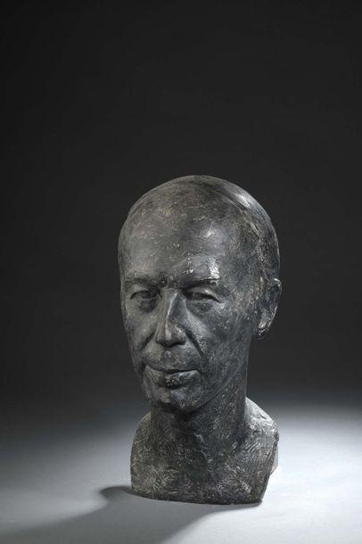 Albert BOUQUILLON (1908-1997)  Buste du Président...