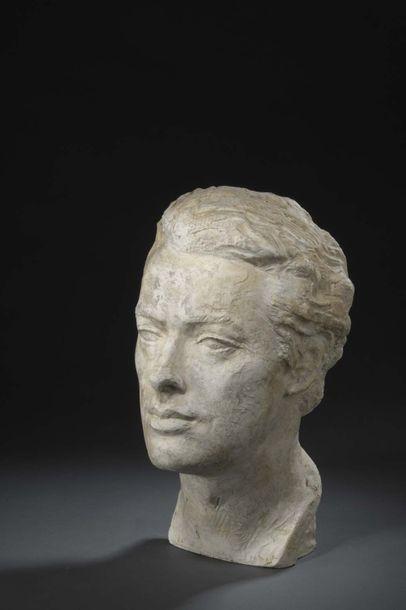 Albert BOUQUILLON (1908-1997)  Buste de Francis...