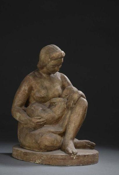 Albert BOUQUILLON (1908-1997)  Maternité,...