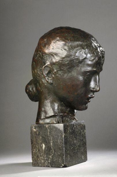 Joseph-Antoine BERNARD (1866-1931)  Tête...