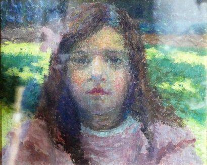Roger GRILLON (1881-1938) Portrait de Micheline...