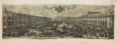 D'après Jacques CALLOT (1592-1635) Vue de...