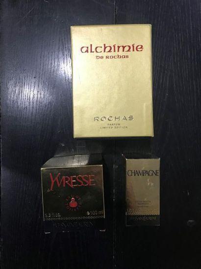Lot de flacons de parfum comprenant : - Rochas,...