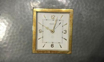 JAEGER LECOULTRE Horloge 8 jours, à mouvement...