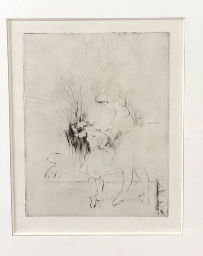 *Louis LEGRAND (1863-1951) Les danseuses...