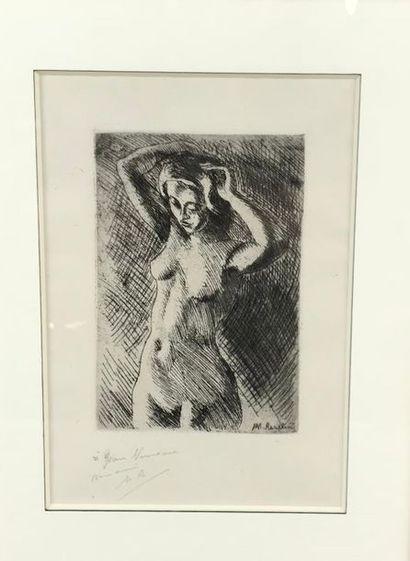 *Lot comprenant : - Maurice ASSELIN (1882-1947)...