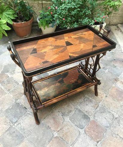 Maison des Bambous, Perret Vibert Table rectangulaire...