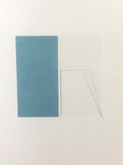 *Six chalcographies du musée du Louvre dont Géneviève Hasse, Dorny, Tony Cragg,...