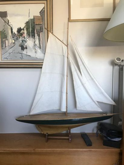 Maquette de voilier L : 106 cm