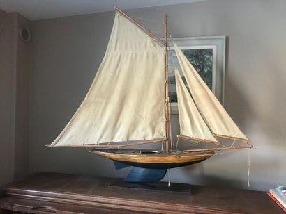 Maquette de voilier L : 93 cm
