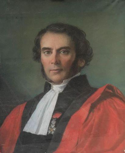 Alexis Joseph PERIGNON (1806-1882) Portrait...