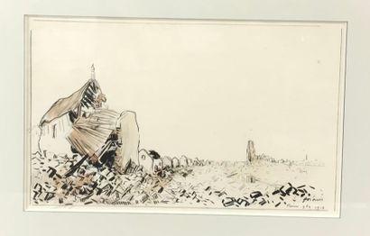 *Jean Louis FORAIN (1852-1931) Ruines de...