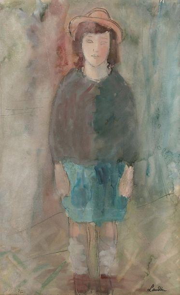 Zygmunt LANDAU (1898 - 1962) JEUNE FILLE...