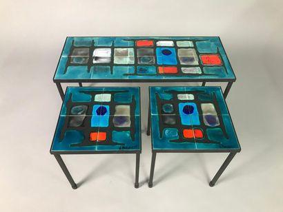 Juliette BELARTI (XXème siècle) 3 tables...