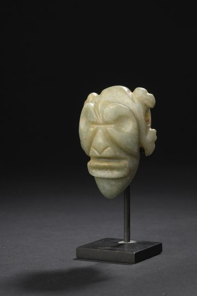 PENDENTIF anthropomorphe  Culture Guanacaste,...