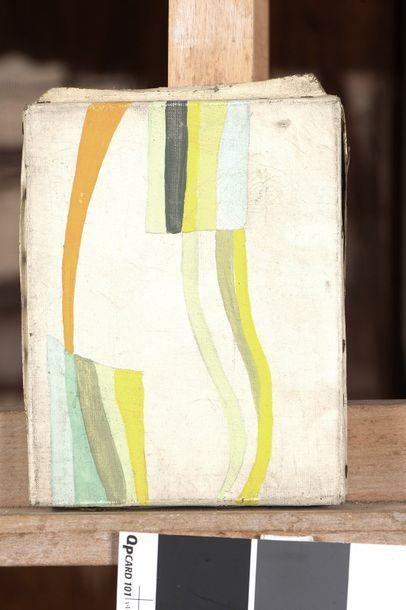 RAQUEL (1925-2014)  Sans titre  Acrylique sur toile.  Cachet d'atelier au dos....