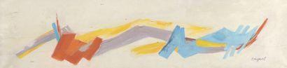 RAQUEL (1925-2014)  Sans titre, 1965  Huile sur toile signée en bas à droite,...