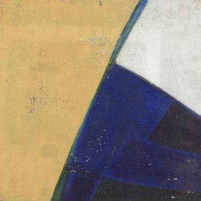 RAQUEL (1925-2014)  Sans titre, vers 1967  Acrylique sur panneau.  Cachet d'atelier...