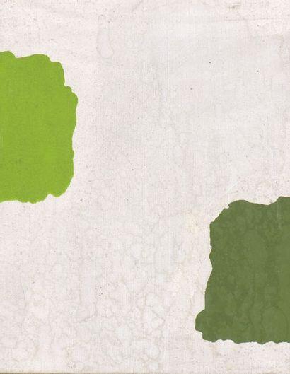 RAQUEL (1925-2014)  Sans titre, 1973  Acrylique sur toile signée et datée au dos....