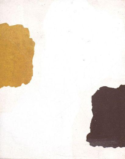 RAQUEL (1925-2014)  Sans titre, vers 1973  Acrylique sur toile.  Cachet d'atelier...