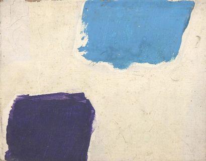 RAQUEL (1925-2014)  Sans titre, 1970  Acrylique sur toile.  Cachet d'atelier...