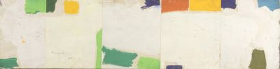 RAQUEL (1925-2014)  Sans titre, 1970  Acrylique sur papier marouflé sur toile...